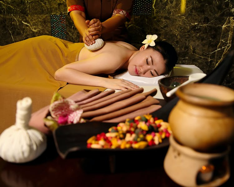 Massage and Spa facilities at Royal Spa