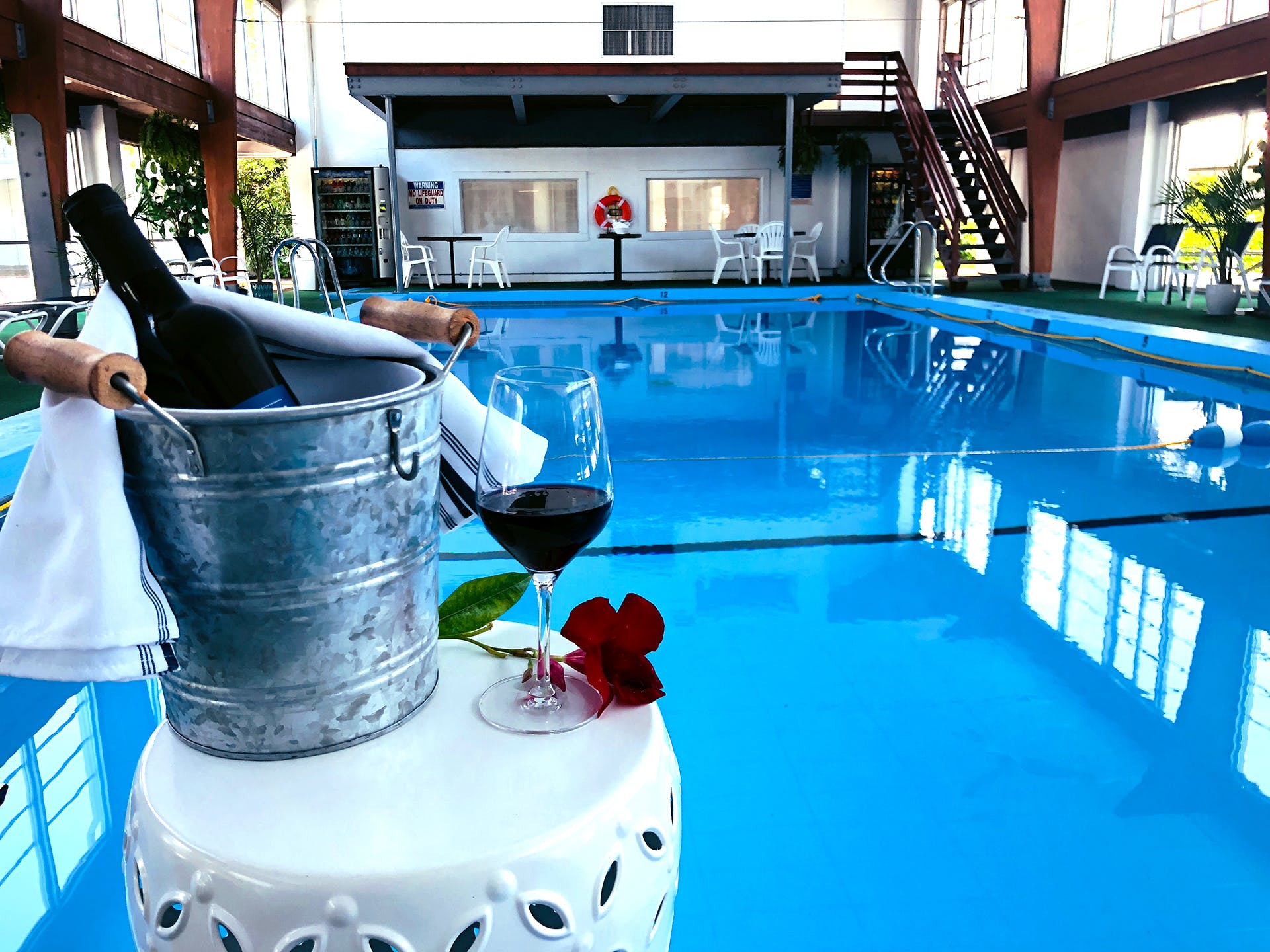 Hyannis Inn welcomes you to enjoy our newly renovated indoor pool to cool off after a day on Main Street, Hyannis 1