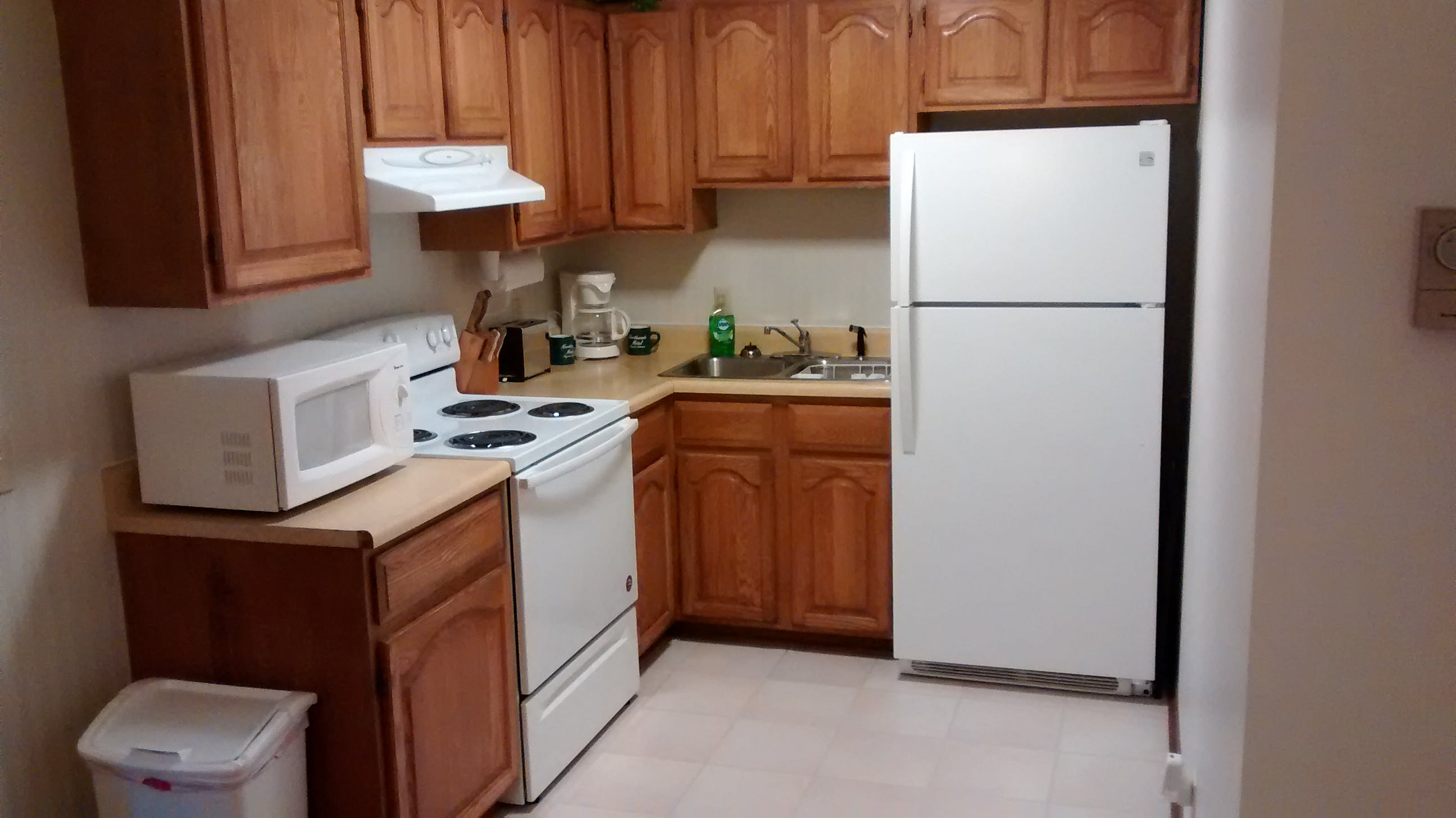 Kitchenette available