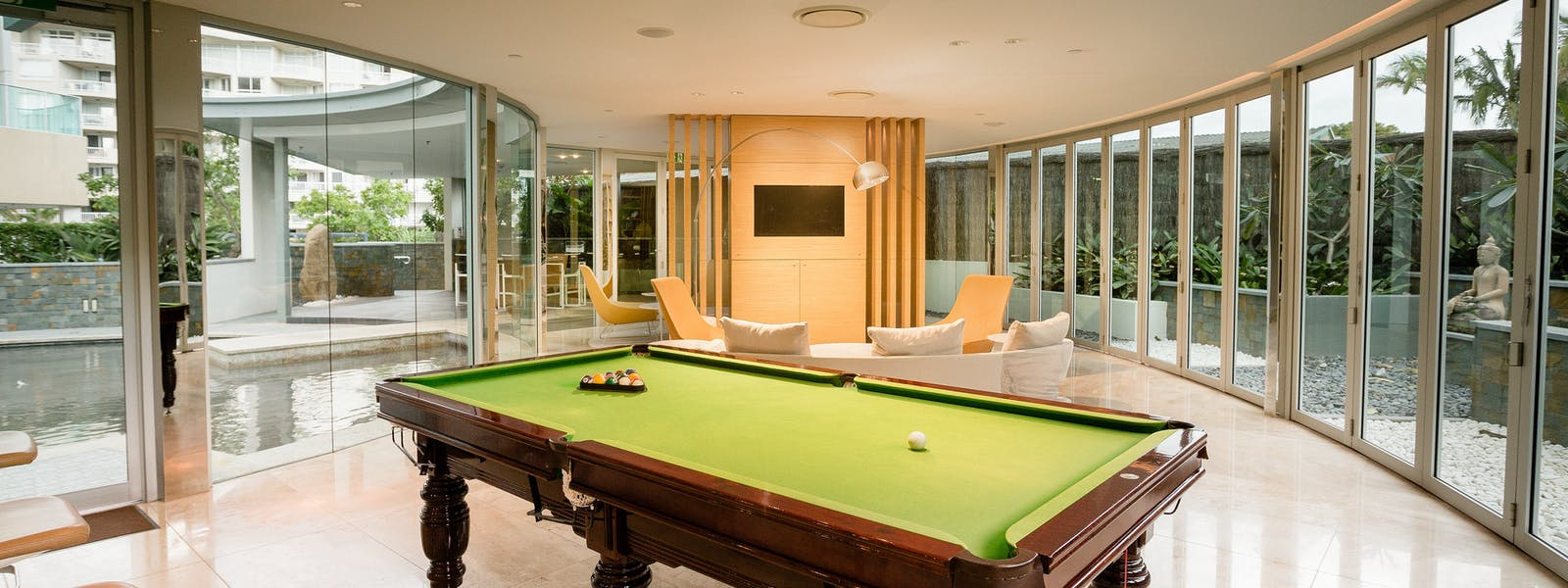 Executive Lounge Pool Table