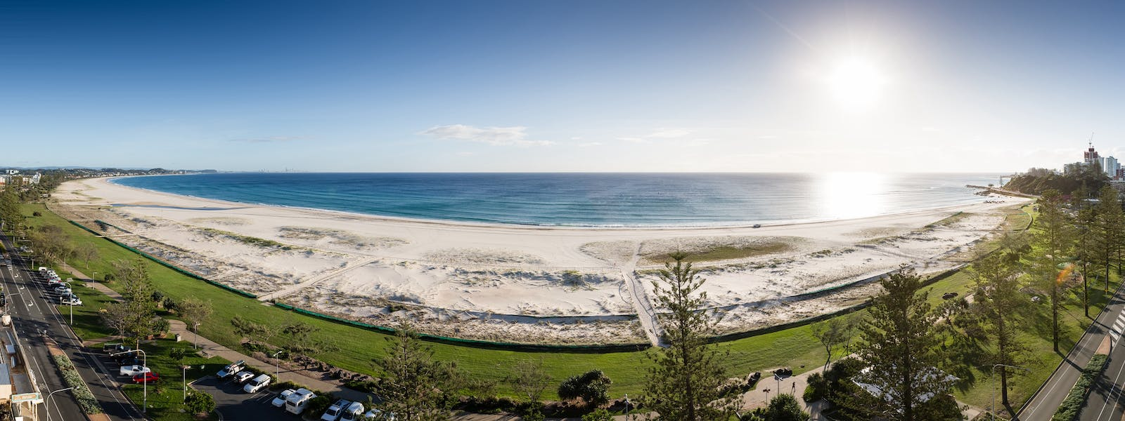 Kirra beach Fish Eye