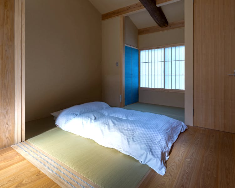 Shimaya Stays Komatsu Residences - 1F 1BR Sleeping Area