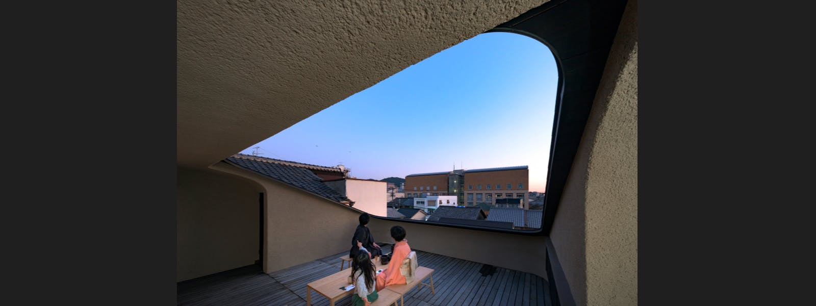 Shimaya Stays Komatsu Residences - Rooftop Tea Gathering Space