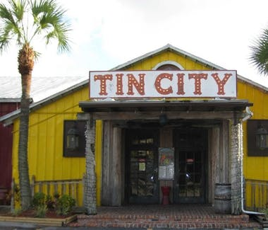 Tin City in Naples FL