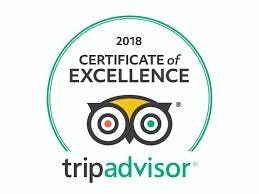 This award goes only to accommodations, attractions and restaurants that consistently earn great reviews from Travelers.