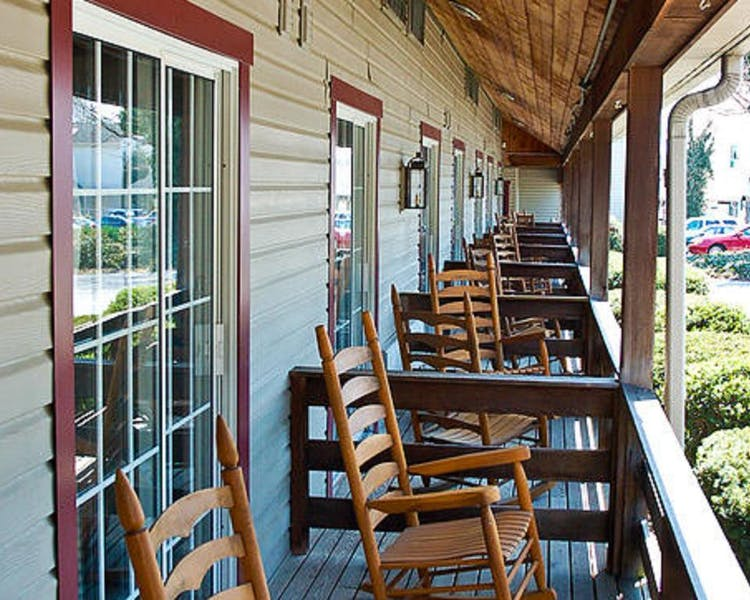 Rest on our balcony porches and recharge.