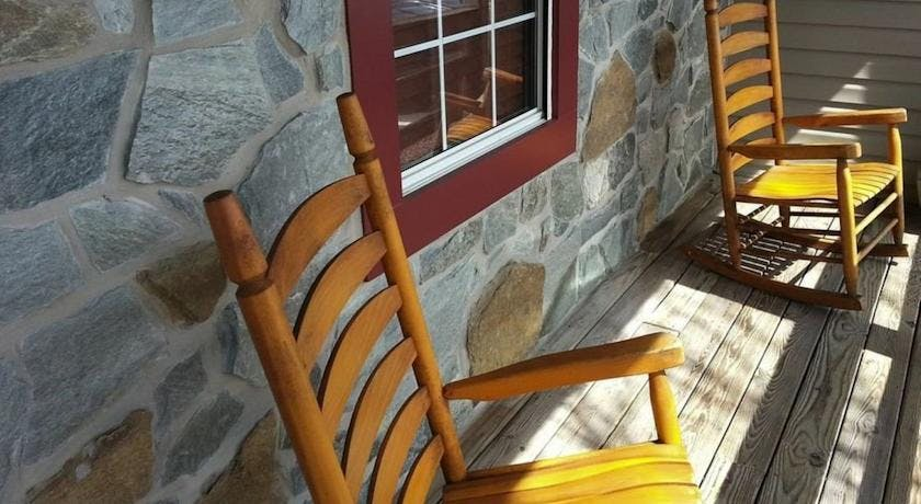 Rocking in rocking chair has been proven to de-stress the mind. Come take a break with us!