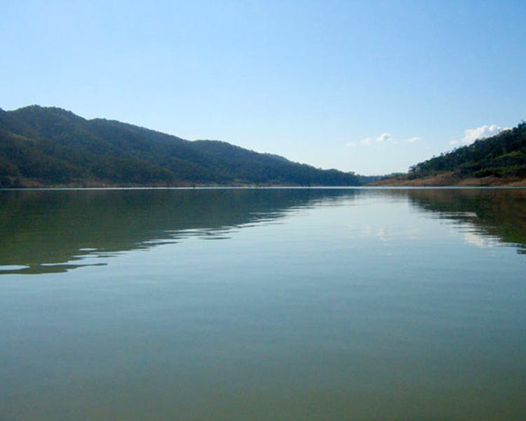 fishing,skiing on lake Eildon