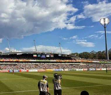 Nearby Attractions Canberra stadium