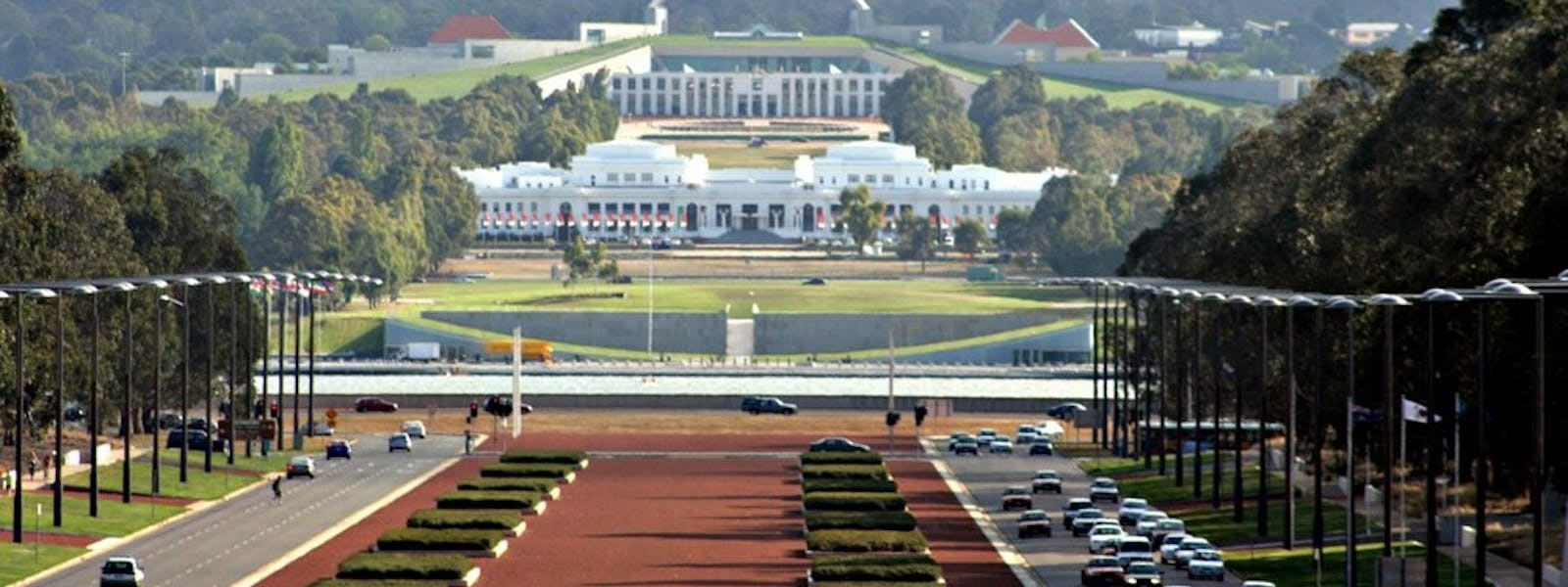 Nearby Attractions Parliament House Anzac Parade
