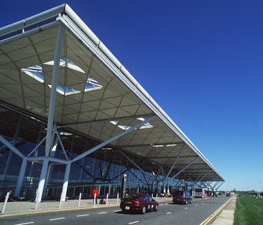Stansted Airport terminal was designed by Norman Foster