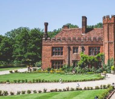 The award winning wedding venue Lees Priory is set in 40 acres of ground less than 2 miles from Laurels guest house.