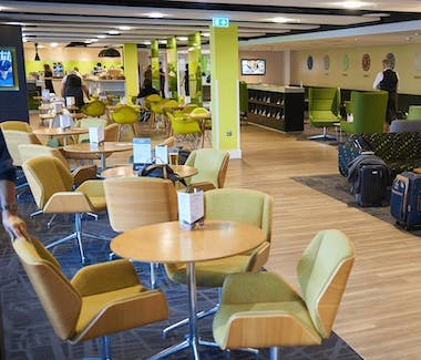 Stansted Airport - one of the new lounge areas