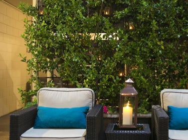 Patio at The Dylan Hotel at SFO 1