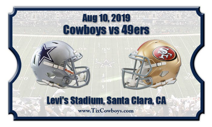 The Dylan at SFO - Preseason Game San Francisco 49ers VS Dallas Cowboys-Levi's Stadium August 10, 2019