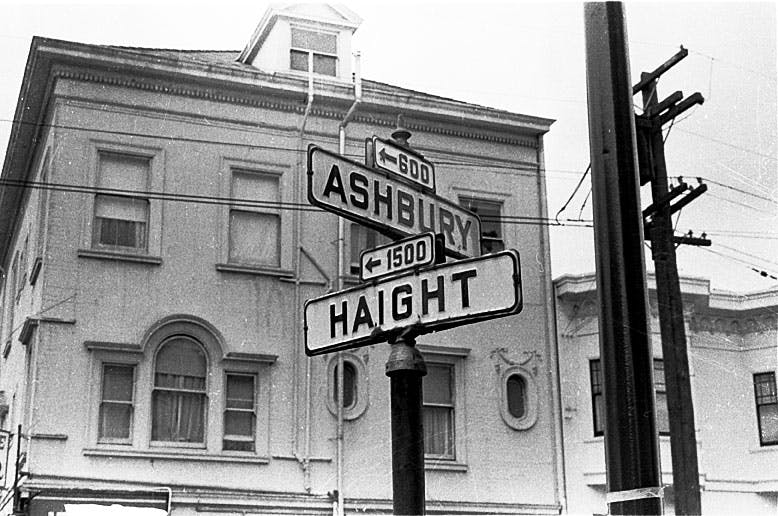The Dylan Hotel- Ashbury and Haight close to BART station. Summer of Love