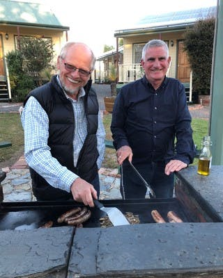 Guest love to BBQ in the warmer months