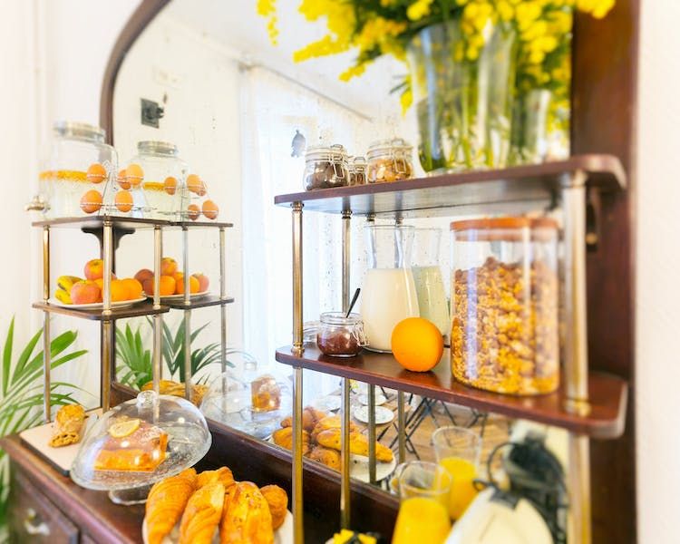 Continental breakfast in buffet style every morning in extra at Hotel Hector Paris