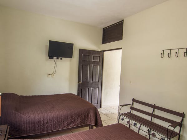 Cozy comfortable bedrooms in our one bedroom villas