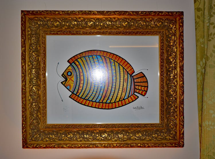Haven Hall Hotel Sea View 1 Bedroom Fish print
