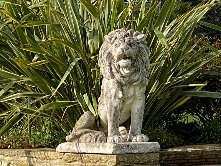 Haven Hall Hotel Lion on right
