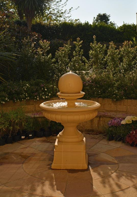 Haven Hall Hotel fountain