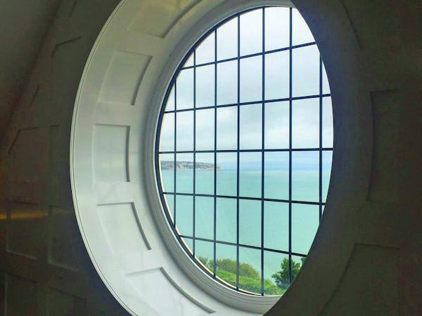 Haven Hall Hotel Penthouse window and view