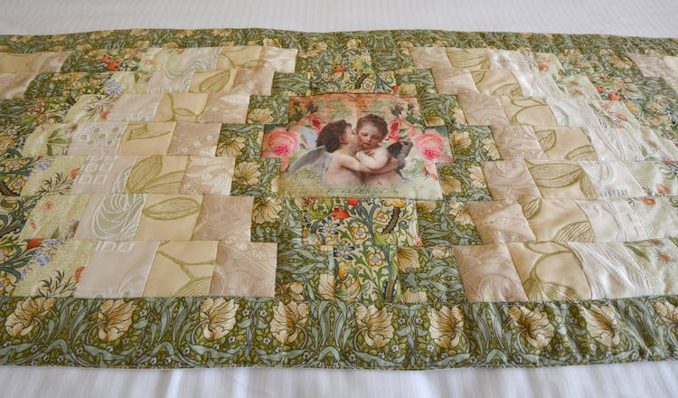 Haven Hall quilt W. Churchill Room 2
