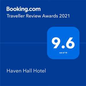Haven Hall Hotel Booking.com rating