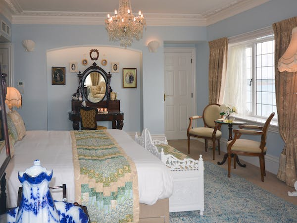 Haven Hall Hotel Bedroom 1 dressing table view