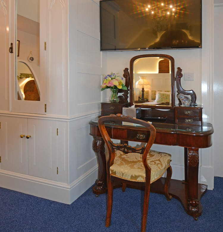 Haven Hall Hotel Bedroom 7 dressing table