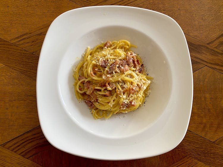Haven Hall Hotel Spaghetti Carbonara