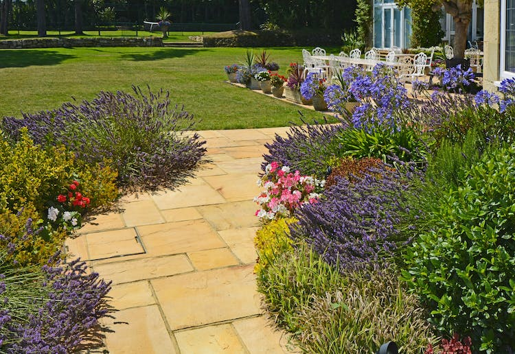 Haven Hall Hotel flower path