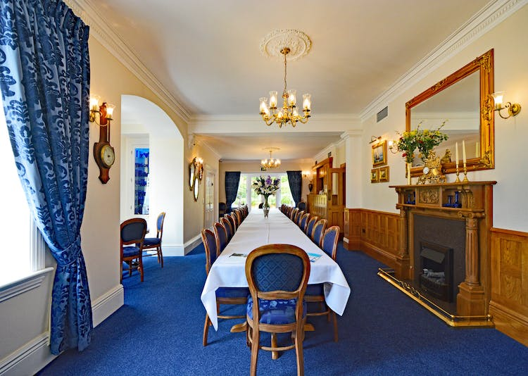 Haven Hall Hotel Private Dining Room