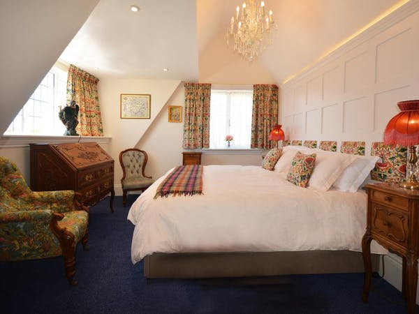 Haven Hall Hotel. Lewis Carroll bedroom