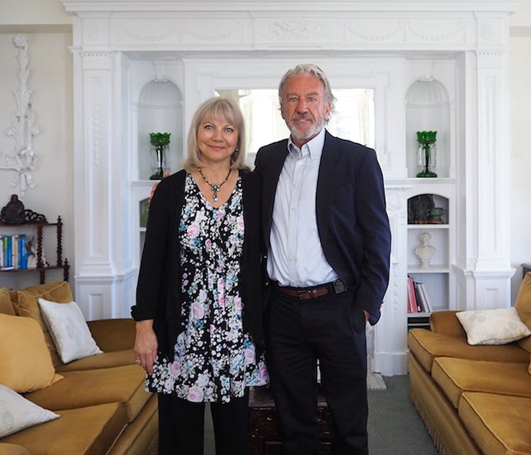 Haven Hall Hotel owners Arielle & David Barratt