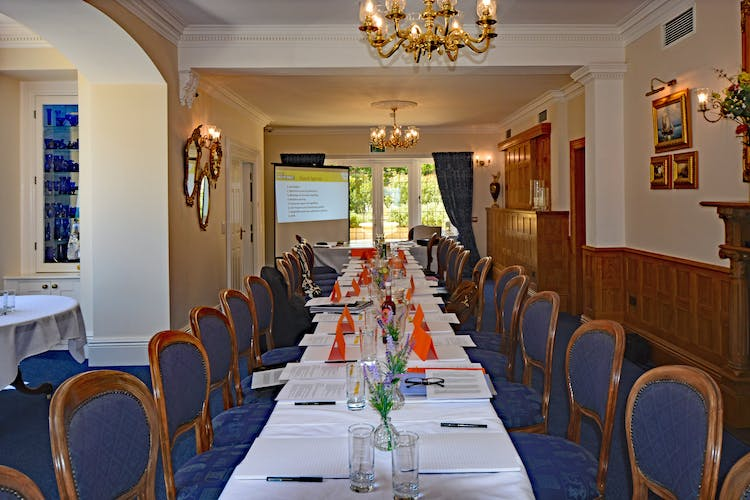 Haven Hall Hotel set up for Board Meeting