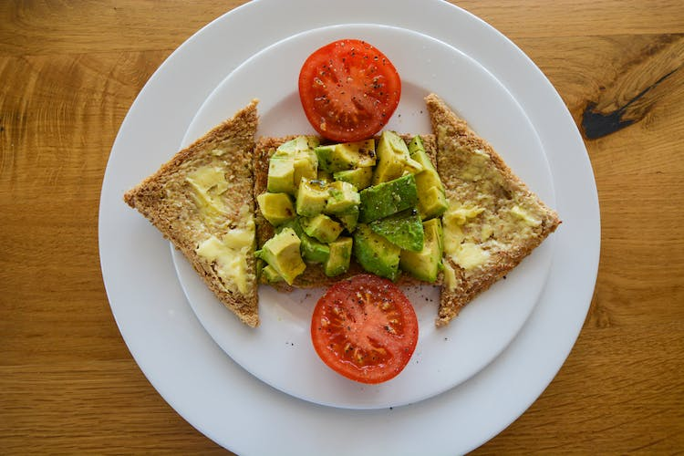 Haven Hall Hotel Breakfast Avocado on Toast