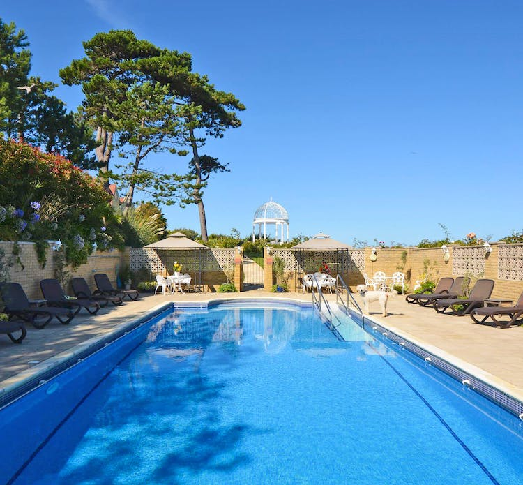 Haven Hall Hotel swimming pool