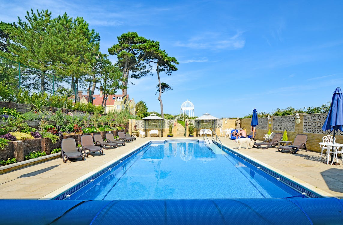 Haven Hall Hotel Pool & Terraces