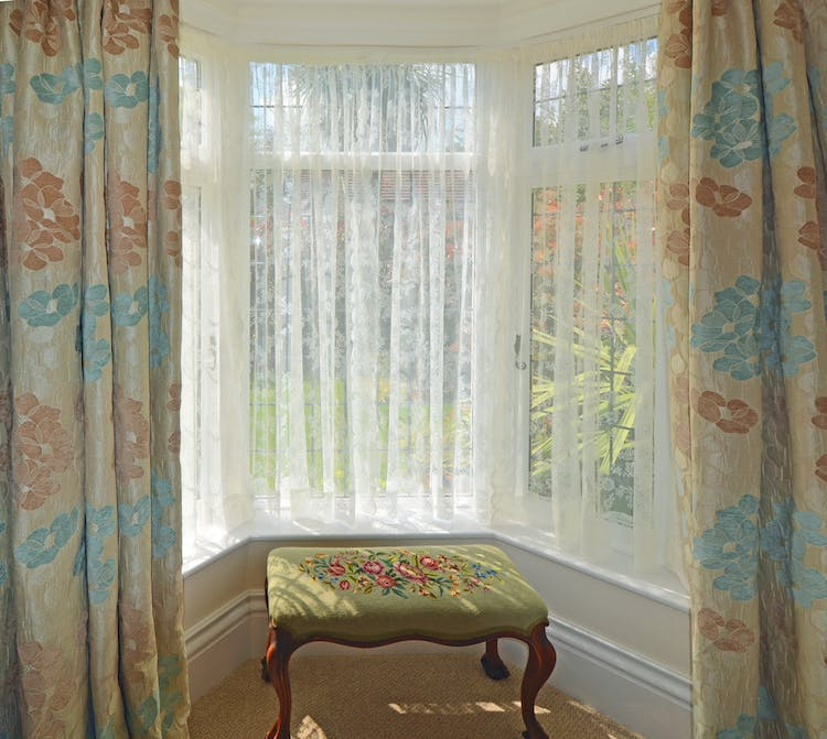 Haven Hall Hotel Garden Suite 2 bay window
