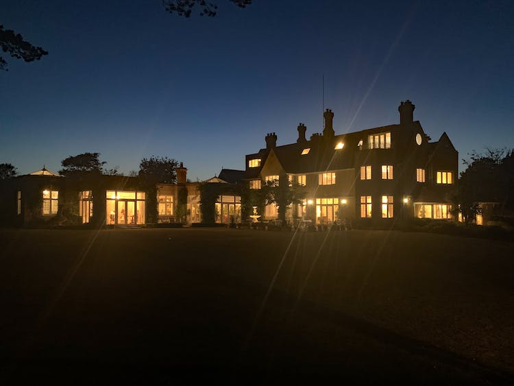 Haven Hall Hotel night time