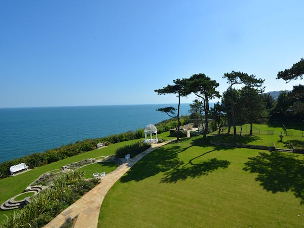 Haven Hall Hotel Penthouse View of Garden & Sea