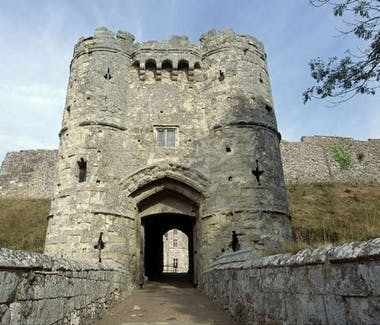 Isle of Wight Carisbrook Castle