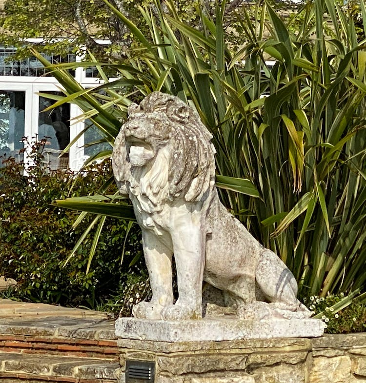 Haven Hall Hotel Lion on left