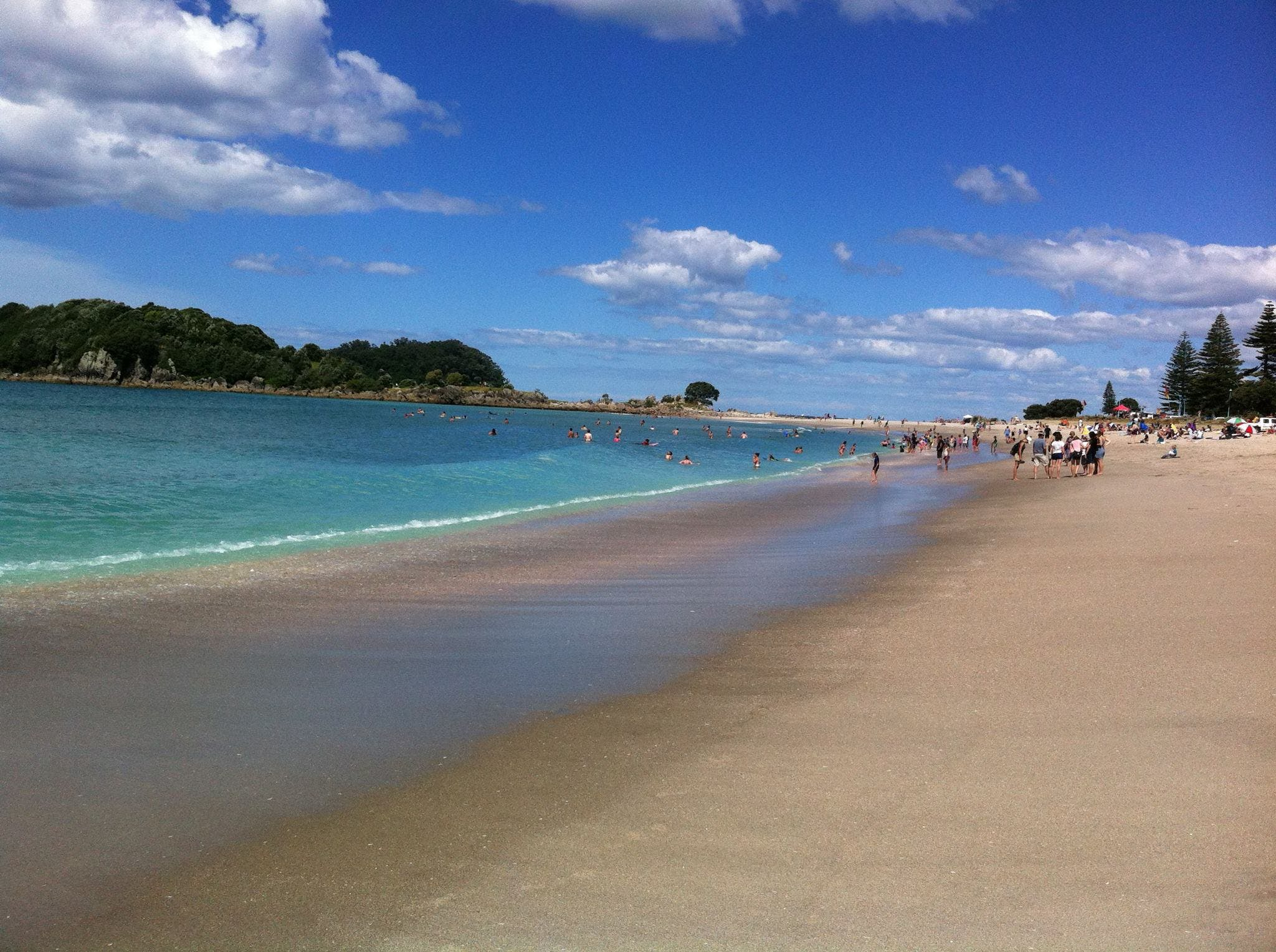 Voted again as New Zealand's #1 beach - Mount Maunganui