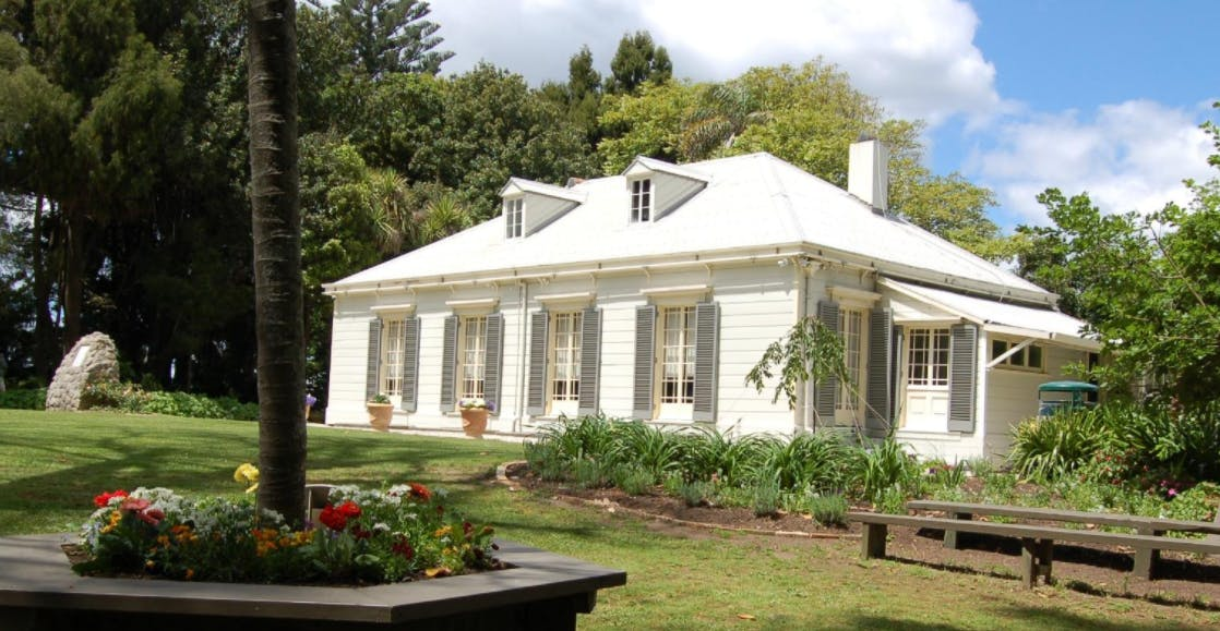 The Elms, Tauranga, local history