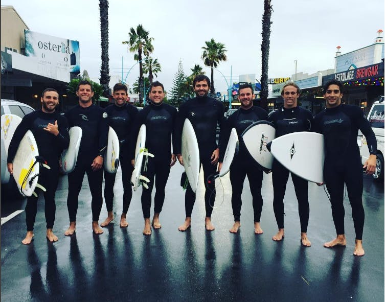Rugby tour turns surf weekend - we love Argentina