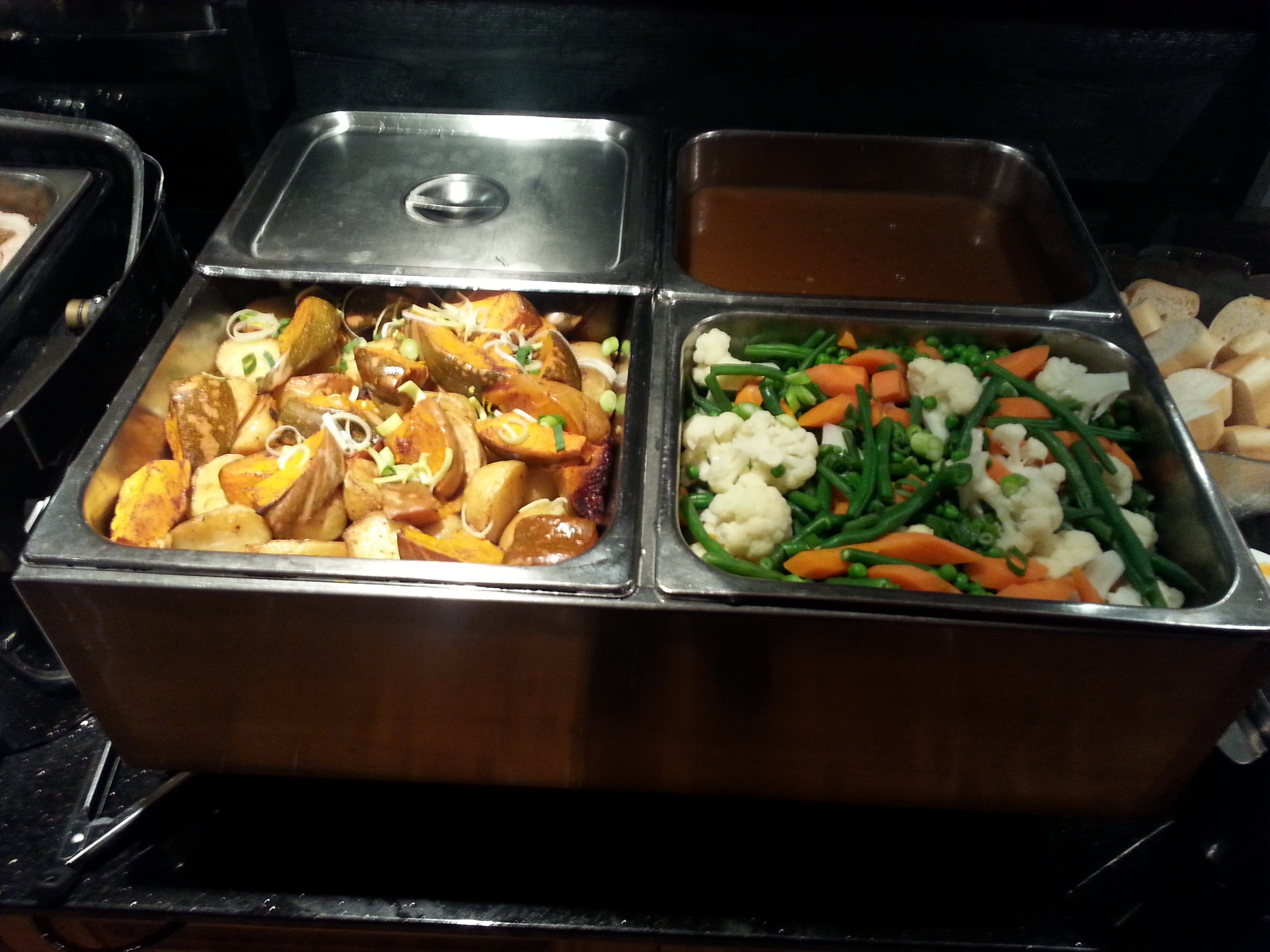 Amazing buffet meals and menu items available