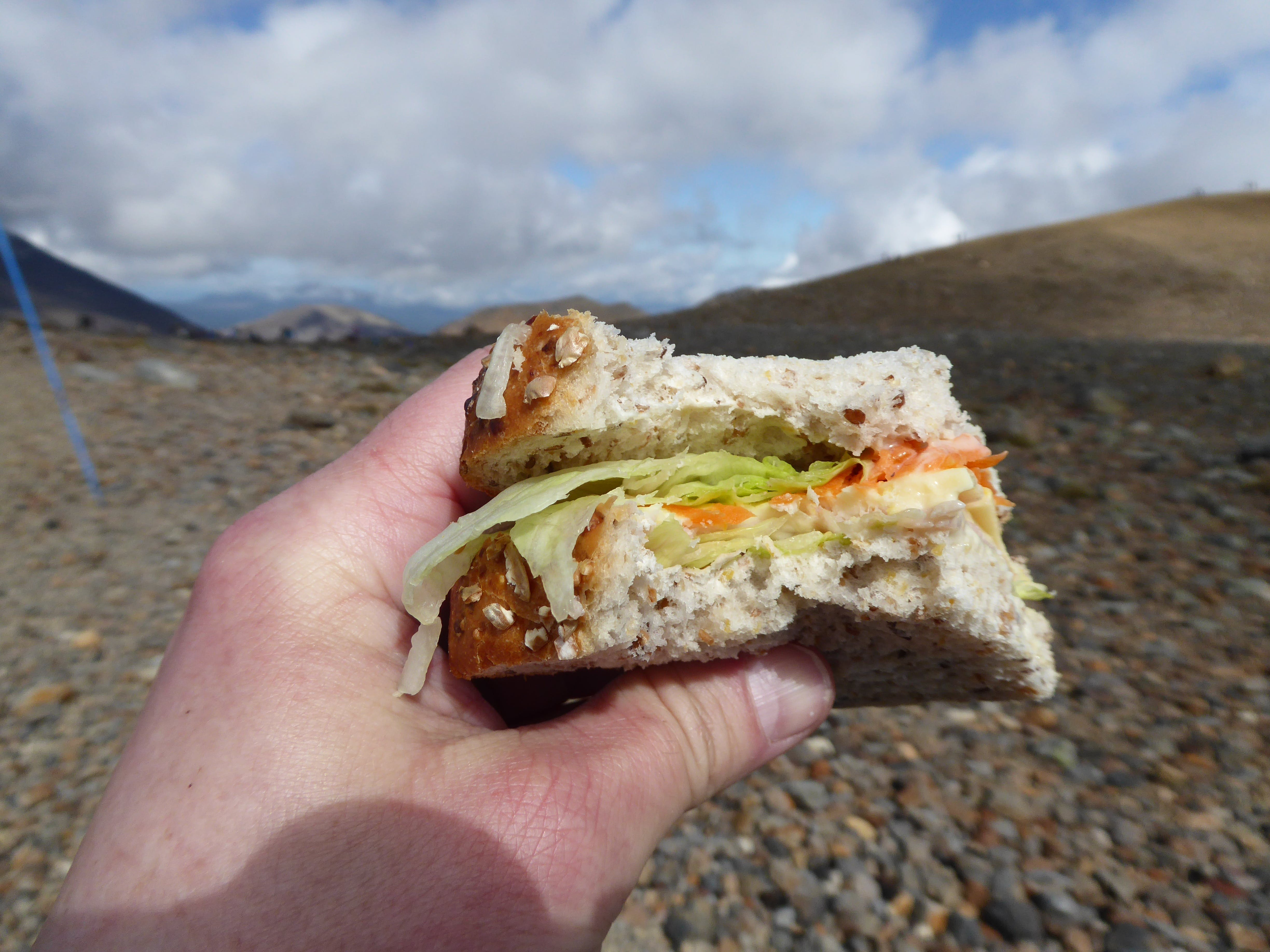 Enjoy a sumptious packed lunch for the Tongariro Alpine Crossing